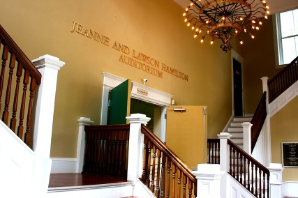 Carnegie - Auditorium Entrance & stairs - CF