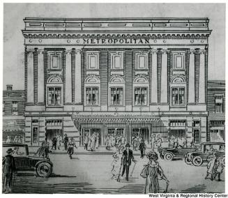 Metropolitan - archival - drawing from opening program