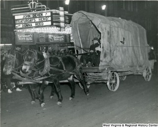 Metropolitan - archival - horse parade