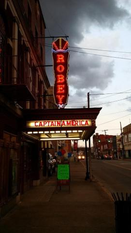 Robey - better neon marquee shot than ours