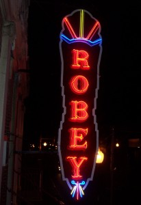 Robey - closeup neon nite from website
