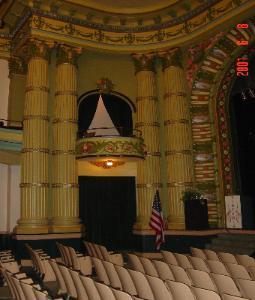 Victoria - auditorium w details, on site